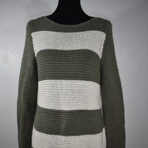 Chicos Knit long sleeve Blouse Size 1